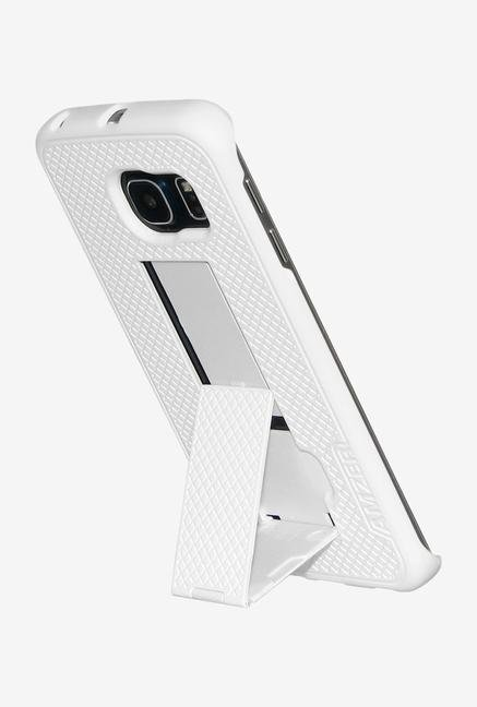 Amzer Shellster Case with Kickstand Black/White for S6 Edge
