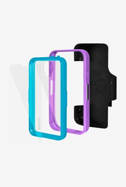 Amzer CRUSTA AMZ300049 Case with Tempered Glass and Holster