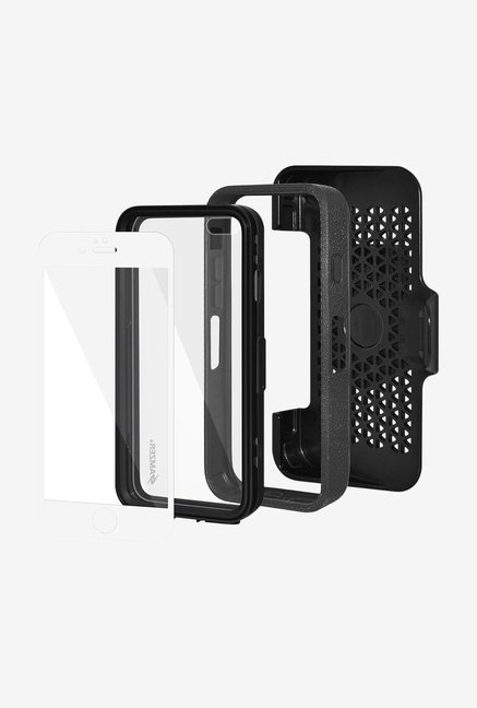 Amzer CRUSTA AMZ300236 Case with Tempered Glass and Holster