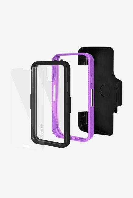 Amzer CRUSTA AMZ300054 Case with Tempered Glass and Holster