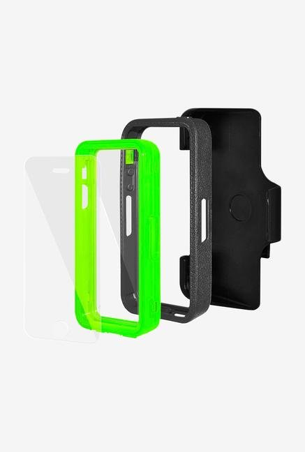 Amzer CRUSTA AMZ300080 Case with Tempered Glass and Holster