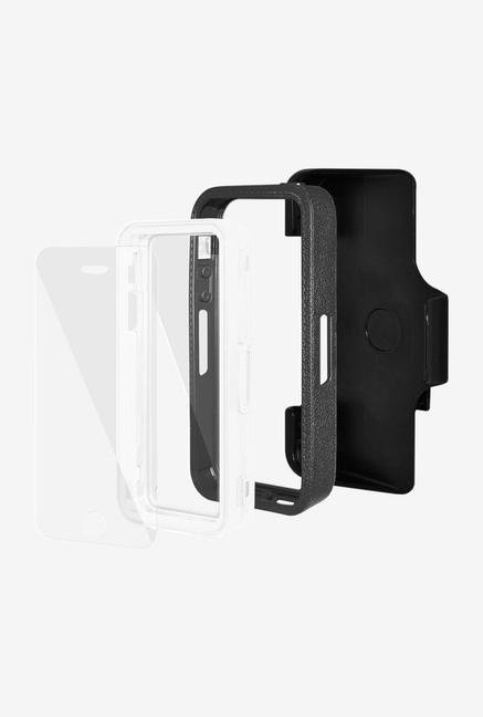 Amzer CRUSTA AMZ300081 Case with Tempered Glass and Holster