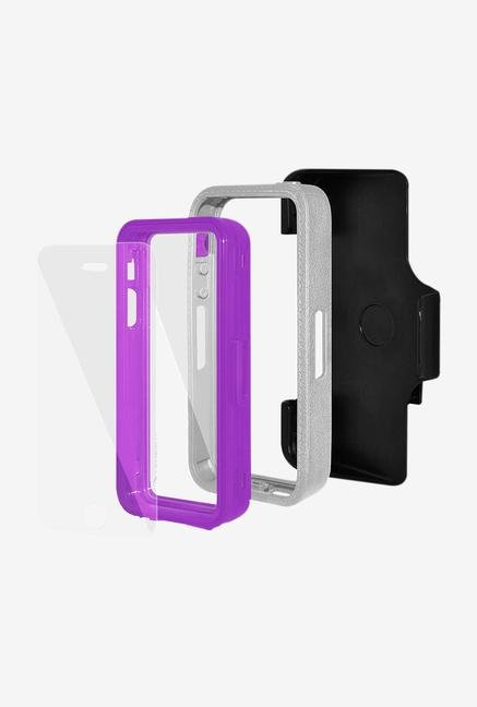 Amzer CRUSTA AMZ300093 Case with Tempered Glass and Holster