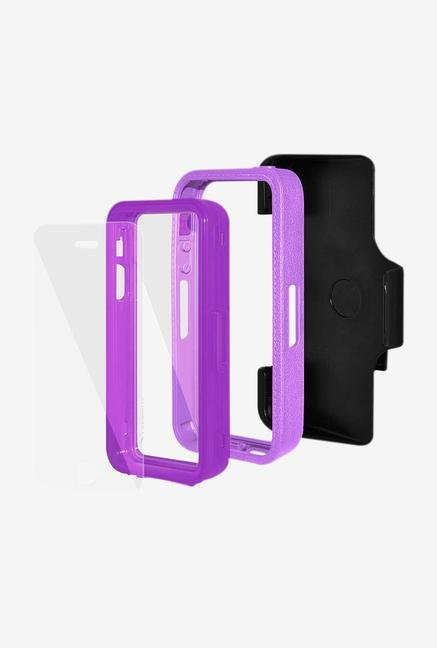 Amzer CRUSTA AMZ300107 Case with Tempered Glass and Holster