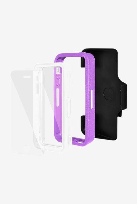 Amzer CRUSTA AMZ300109 Case with Tempered Glass and Holster