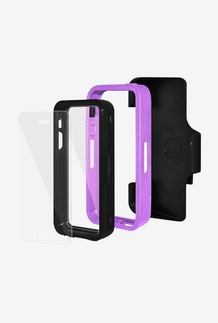Amzer CRUSTA AMZ300110 Case with Tempered Glass and Holster