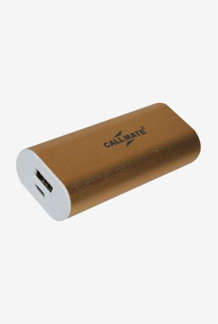 Callmate LPG 5200 mAh Power Bank (Gold)