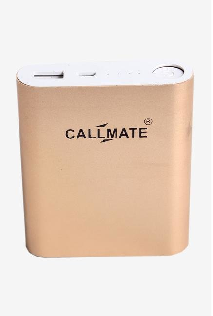 Callmate Alloy 10400 mAh Power Bank (Gold)
