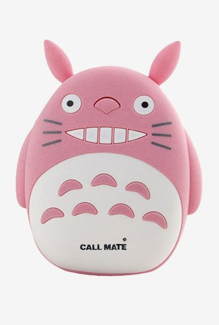 Callmate Cat Teeth 8000 mAh Power Bank (Pink)