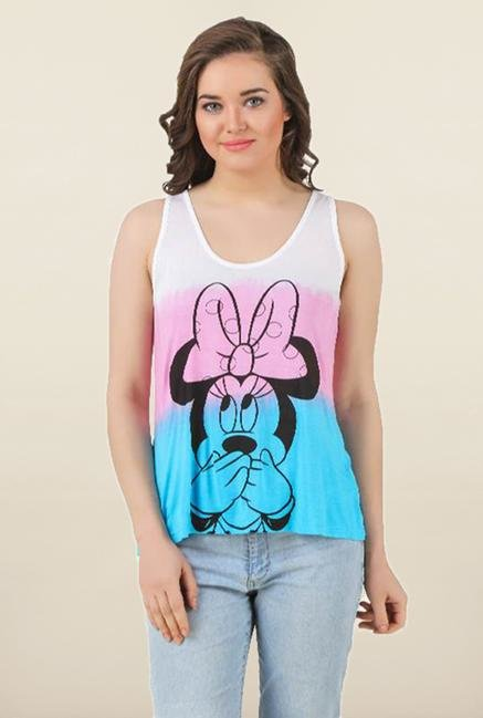 Mickey & Friends Multicolor Tank Top