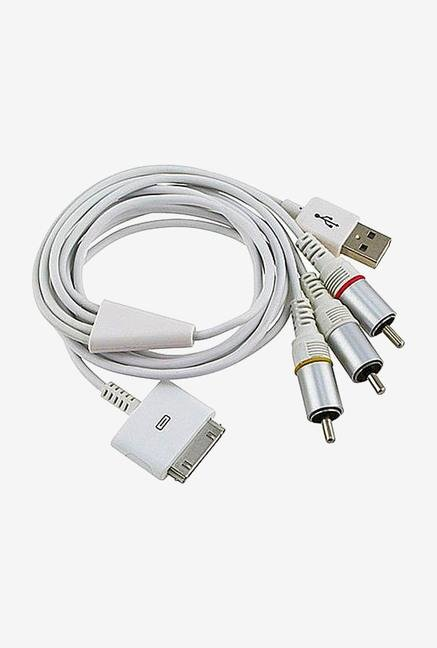 Callmate AV Cable for Apple Devices White