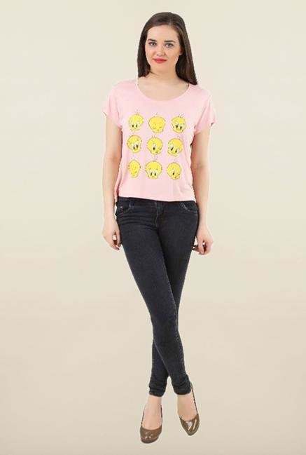 Tweety Rose Printed Top