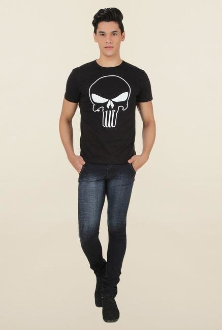Marvel Comics Black Crew Neck T Shirt