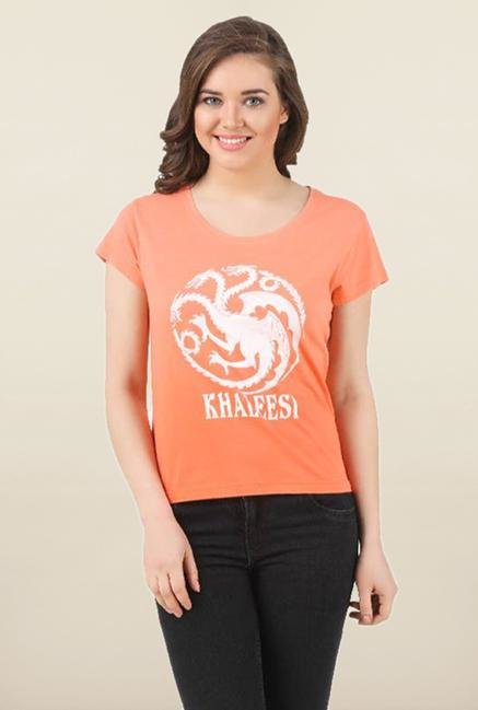 Game of Thrones Coral Printed Top