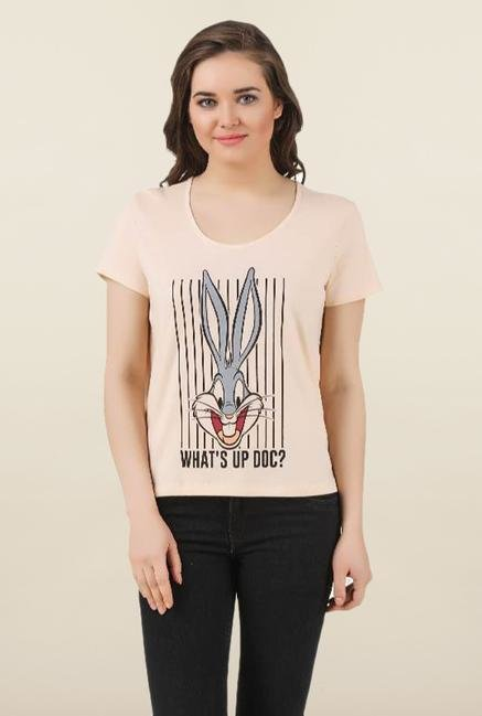 Looney Tunes Linen Cotton Top