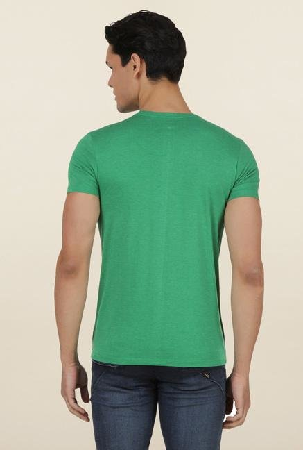 The Simpsons Green Crew Neck T Shirt