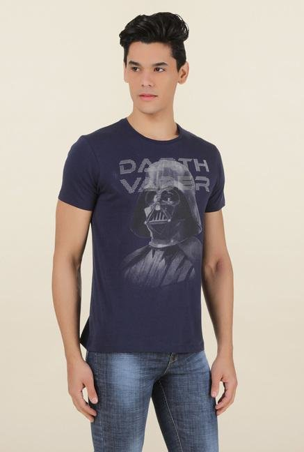 Star Wars Dark Navy Cotton T Shirt