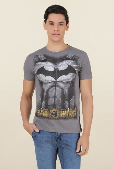 Batman Dark Grey Crew Neck T Shirt