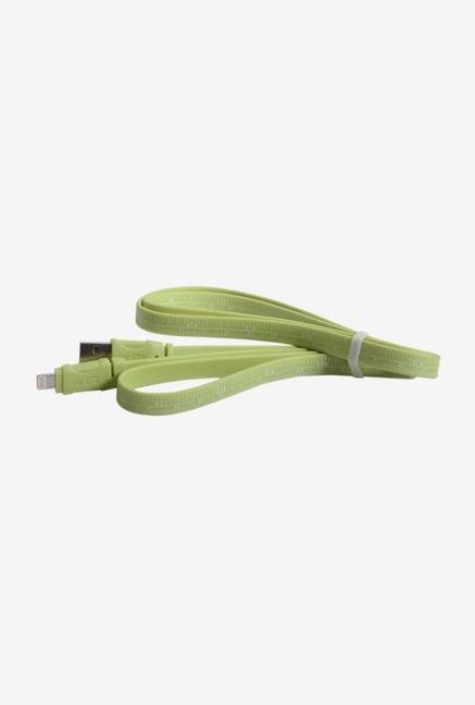 Callmate Data & Charging Ruler Cable for IPhone 5 Green