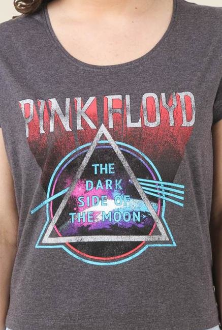 Pink Floyd Anthra Printed Top