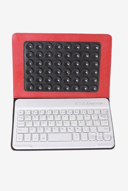 Callmate Bluetooth Keyboard with Cover Red for iPad