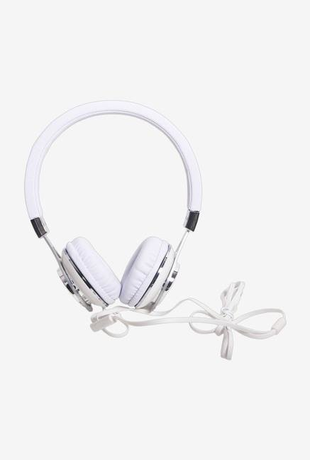 Callmate Metal HPMSO-01Bk Over-Ear Head Phone White