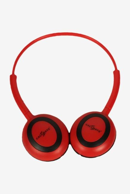 Callmate HPOMRD Over-Ear Head Phone Red