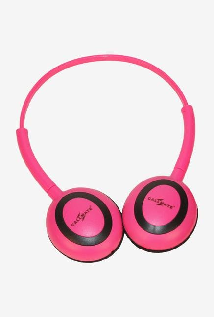 Callmate HPOMPK Over-Ear Head Phone Pink