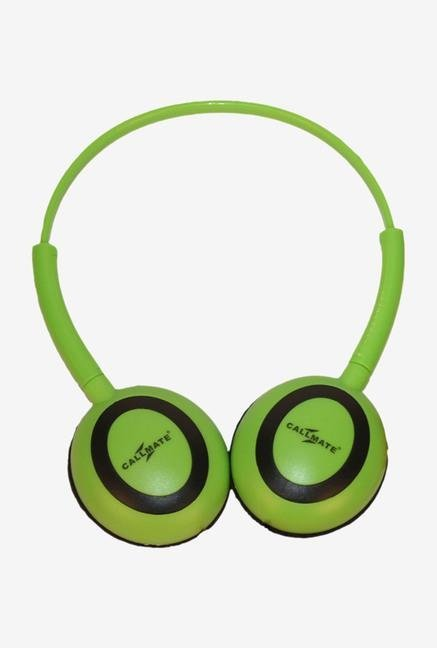 Callmate HPOMGN Over-Ear Head Phone Green