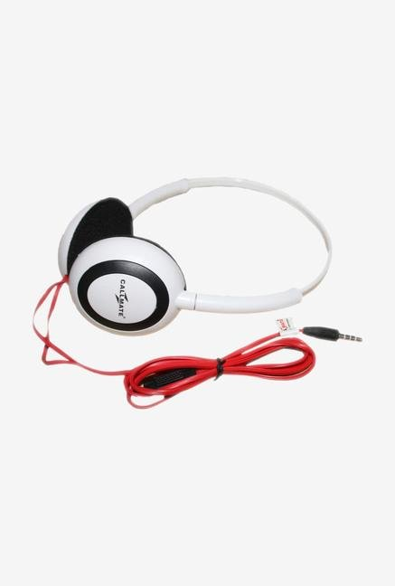 Callmate HPOMWH Over-Ear Head Phone White