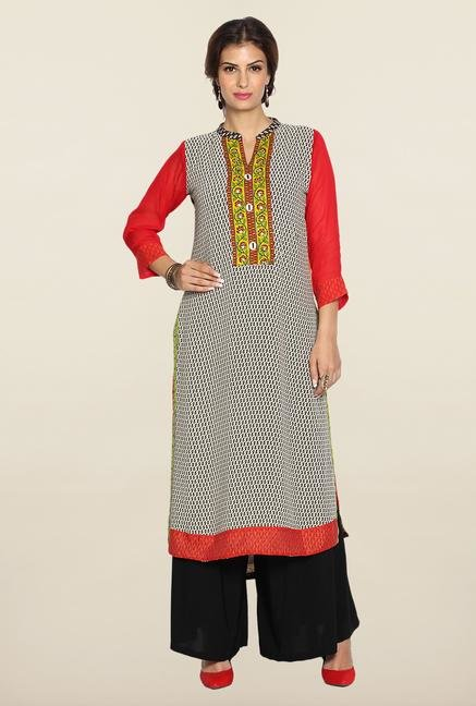 Soch Multicolor Georgette Kurta Suit Set