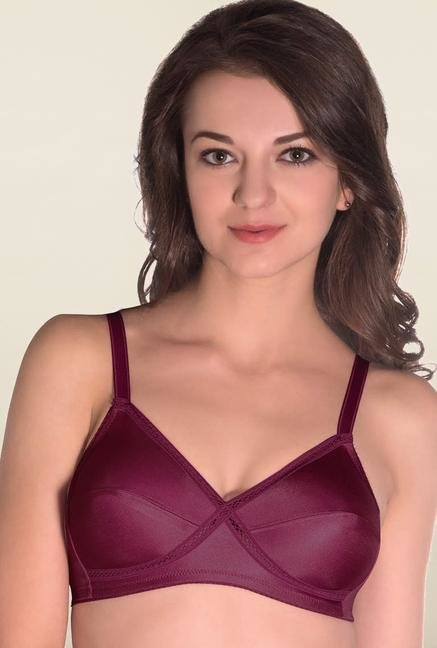 Amante Grape Non Padded Seamless Bra