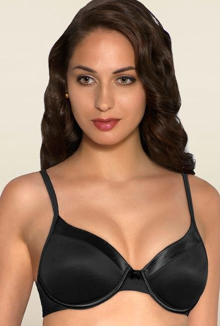 Amante Black Underwired Padded Bra