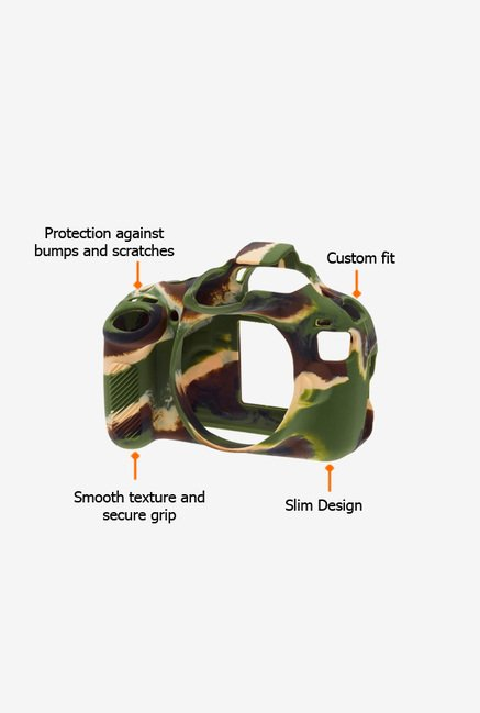 EasyCover Camera Case for Canon 1200D/T5 Camouflage