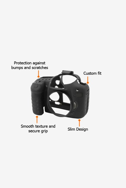 EasyCover Camera Case for Canon 7D Black