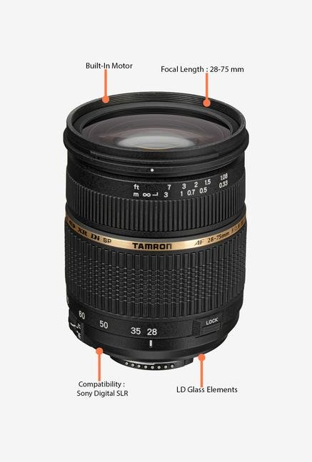 Tamron SP AF 28-75mm f/2.8 XR Di LD AL IF Lens for Sony DSLR