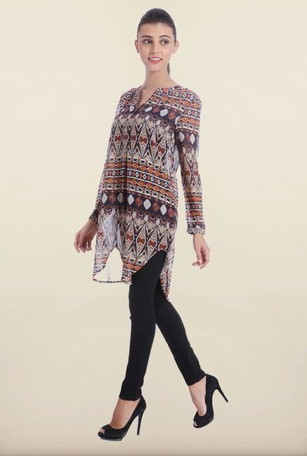Only Multicolor Printed Tunic
