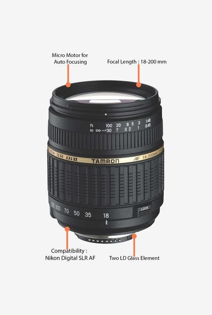 Tamron 18-200mm f/3.5-6.3 XR Di II LD AL Lens for Nikon DSLR