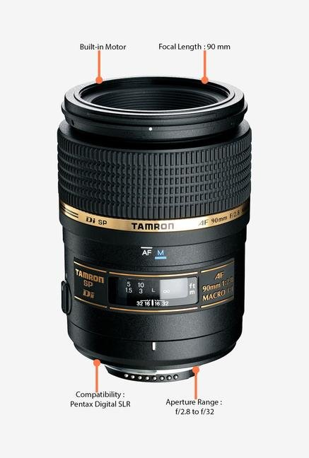 Tamron SP AF 90mm f/2.8 Di Macro 1:1 Lens for Pentax DSLR