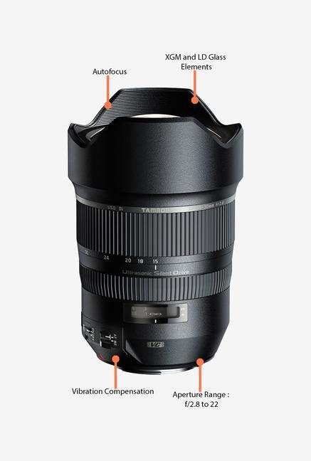 Tamron SP 15-30mm f/2.8 Di VC USD Lens for Canon DSLR