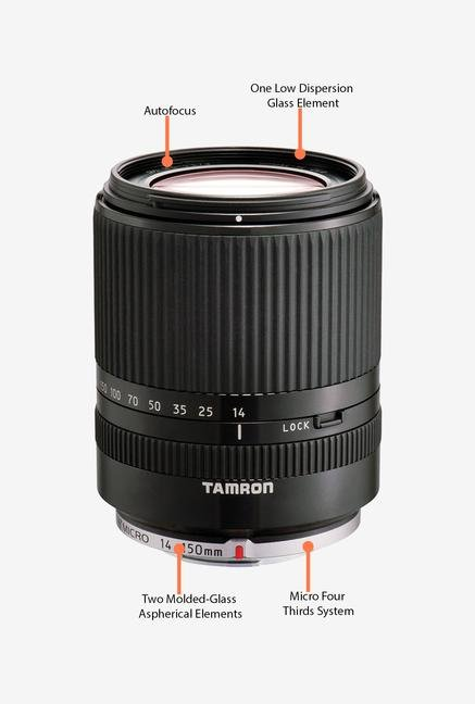 Tamron 14-150mm f/3.5-5.8 Di III Black Lens for MFT Systems