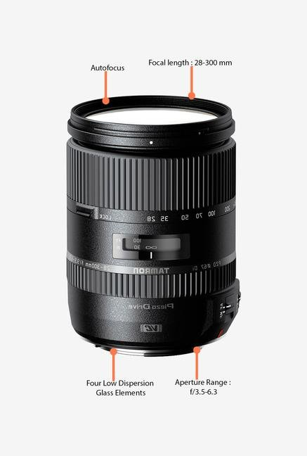 Tamron 28-300mm f/3.5-6.3 Di VC PZD Lens for Sony DSLR