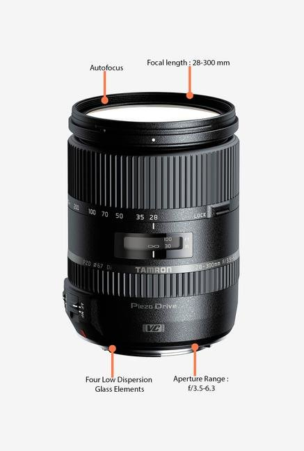 Tamron 28-300mm f/3.5-6.3 Di VC PZD Lens for Canon DSLR