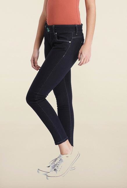 Only Dark Blue Denim Skinny Fit Jeans
