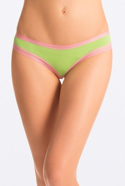 Pretty Secrets Bikini Panties (Orange, Green & Navy)