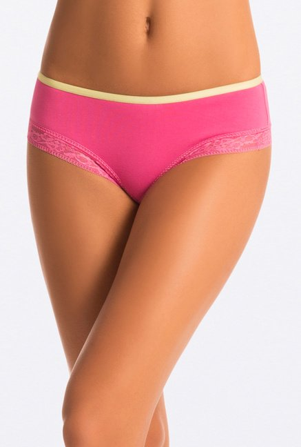 Pretty Secrets Hipster Panties (Pink, Blue & Yellow)