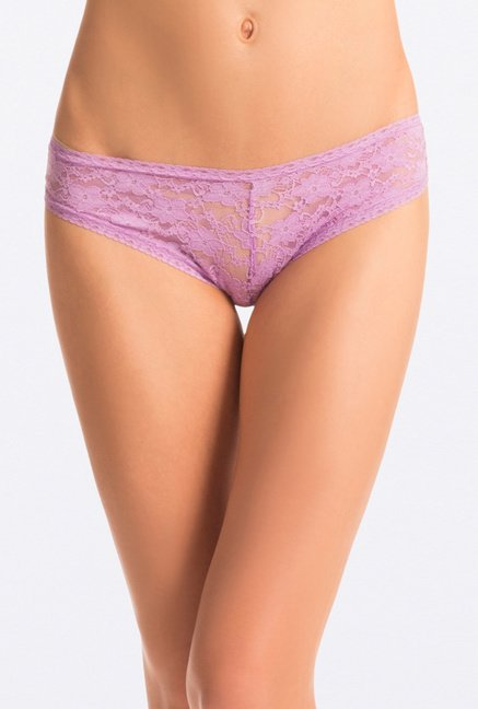Pretty Secrets Lace Hipster Panties (Pink, Lavender & Black)
