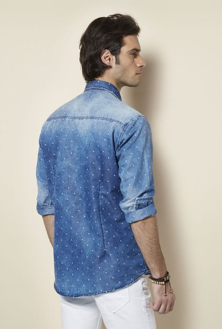 Killer Blue Denim Shirt