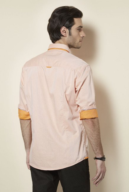 Killer Orange Slim Fit Casual Shirt