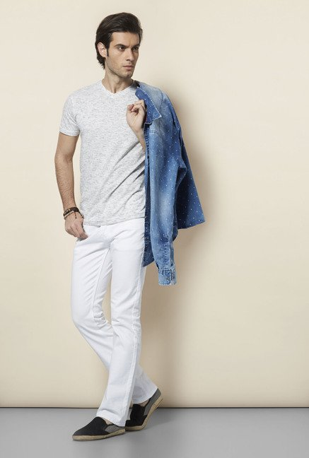 Killer White Slim Fit Jeans